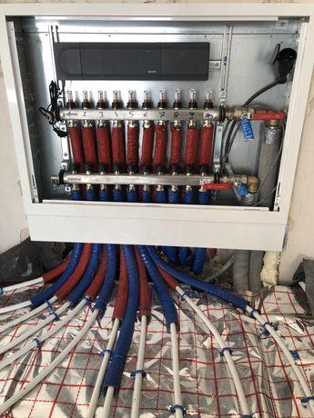 Instalacje, przyłącza projekty wod kan i gaz c.o rekuperacja