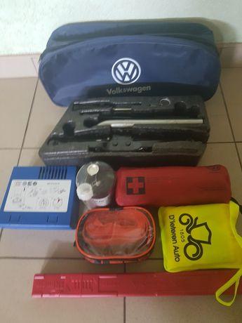 Volkswagen Golf 7 Jetta Passat B7 B8 CC Домкрат Крюк Ключ Сумка Знак