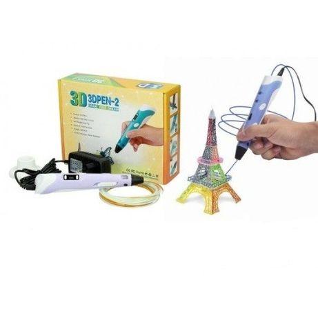 3D Ручка PEN-2 с LCD-дисплеем + пластик