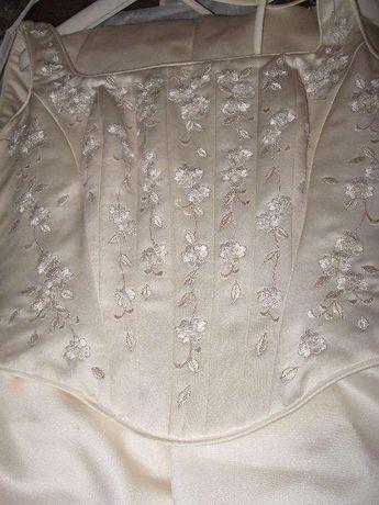 Vestido de noiva (Pomba Branca - Cascais)