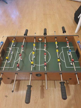 Piłkarzyki stół drewniany