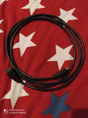 Kabel HDMI + kabel internetowy