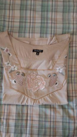 Blusa de algodão da Massimo Dutti