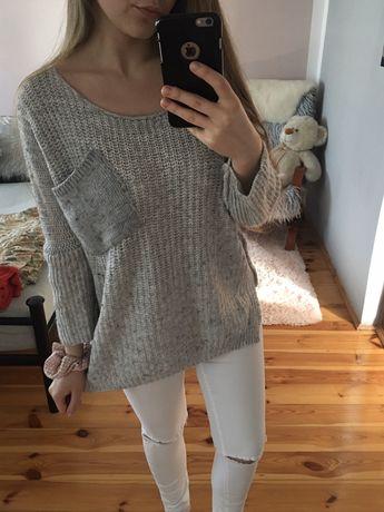 Sweter gruby,ciepły