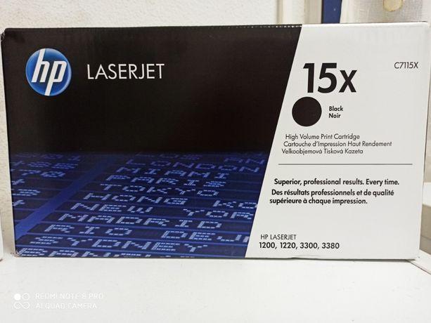 Vendo dois toners originais HP Laserjet C7115X (preto)