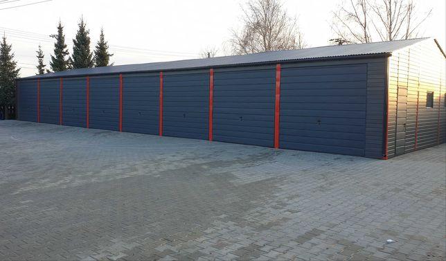 Garaże blaszaki wiaty hale
