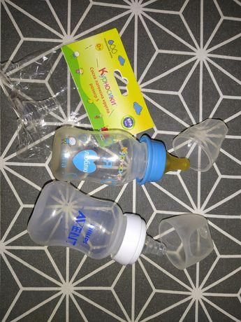 Детские принадлежности и бутылочки