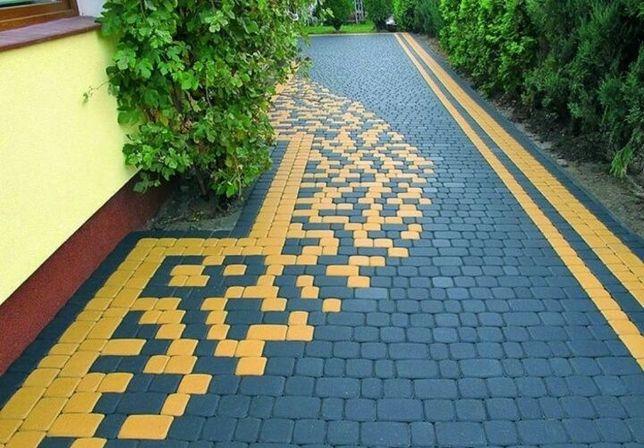 Укладка тротуарной плитки (ФЕМ)