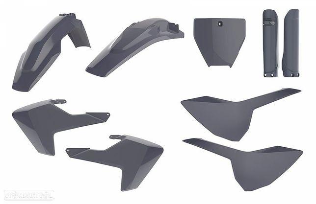kit plasticos polisport nardo grey husqvarna fc 250 / 350 / 450