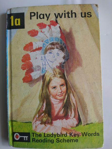 Книга на англійській мові Play with us Ladybird