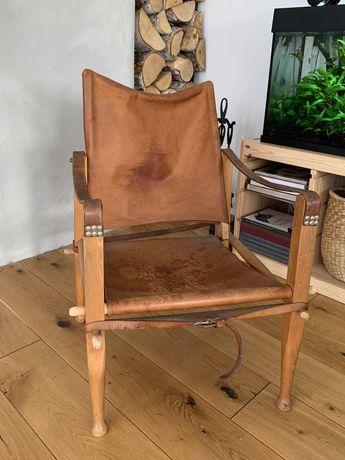 Krzesło fotel Kaare Klint duński design Safaristol