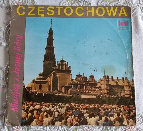 Częstochowa, muzyka z Jasnej Góry winyl wydany po 1972 r.