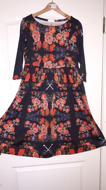 Платье для беременных и кормящих мам. Подойдет на L, XL.