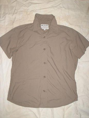 Бренд Columbia GRT летняя треккинговая рубашка для девушки