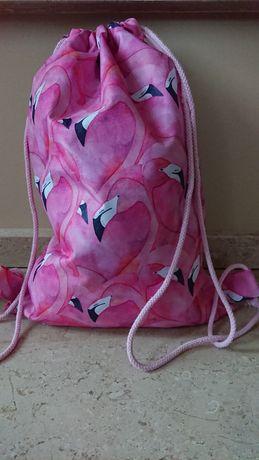 Worek, plecak wodoodporny, różne wzory,hand made