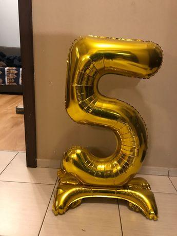 Balon cyfra -urodzinowy 5 lat