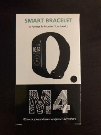 Smart-браслет, фитнес-браслет М4 черный