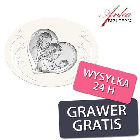 ankabizuteria.pl aniołek na chrzest Srebrne kolczyki z bursztynem dług