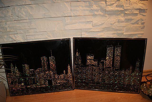 Obraz/ Obrazy świecące Nowy York