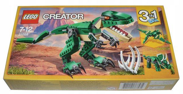 OKAZJA! Klocki LEGO CREATOR 3w1 Potężne Dinozaury 31058!