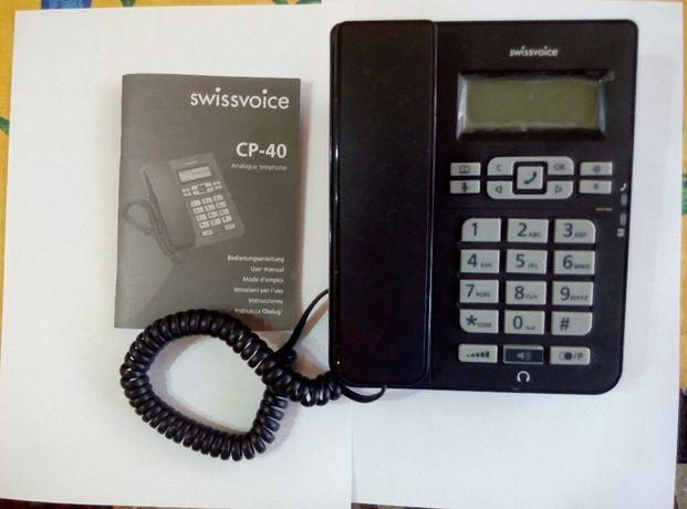 Telefon przewodowy swissvoice CP-40