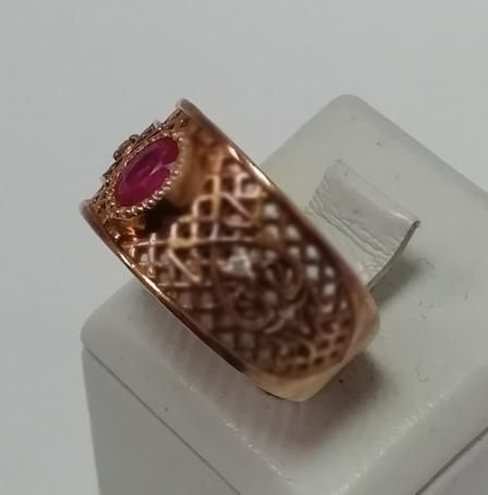 Кольцо из желтого золота с рубином (12675930) (12675930)