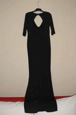 H&M długa suknia rozm 36 38 jak nowa studniówka bal wesele