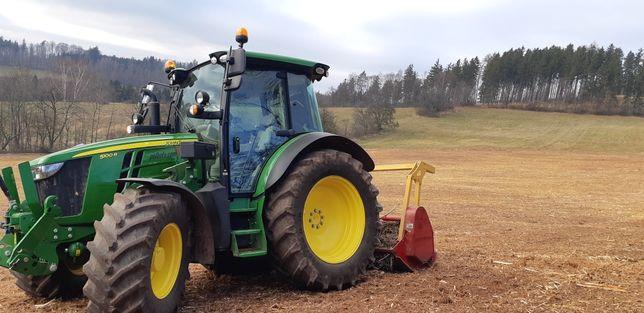 REKULTYWACJA gruntu/terenu -czyszczenie działek,łąk- MULCZER LEŚNY