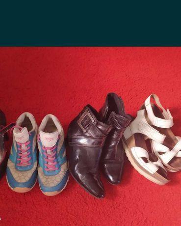 3 пары обуви за 200 гр 38-39 рр