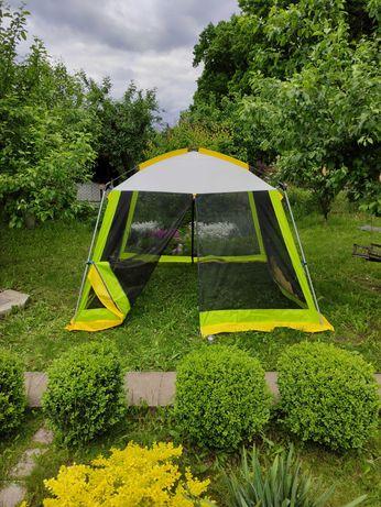 Большая палатка-шатер 3*3*2,1м | тент из москитной сетки, кемпинг