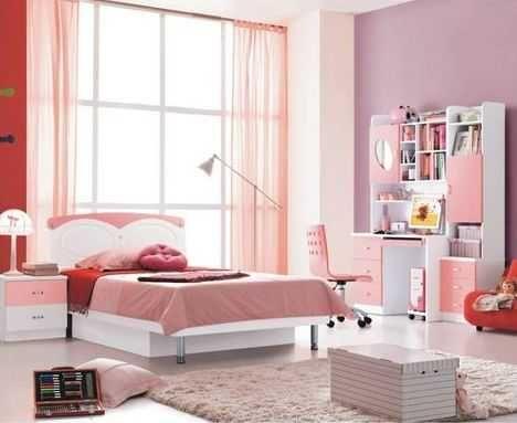 Кровать МДФ розовая (120х190) уценённая