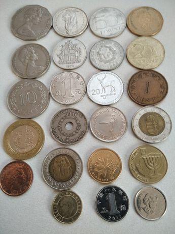 обминяю монеты всего мира разных стран предлагаю обмен на монеты