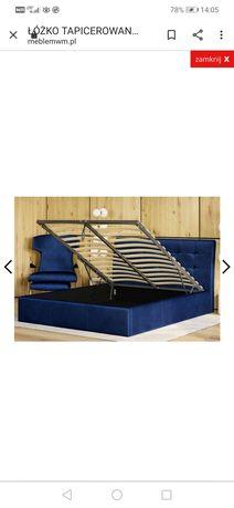 Sprzedam łóżko sypialniane 140x200 z pojemnikiem na pościel