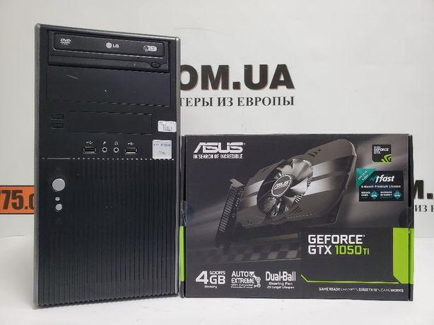 Игровой компьютер, Intel Core i7-4790s 4.0GHz, GTX 1050Ti 4GB, SSD+HDD