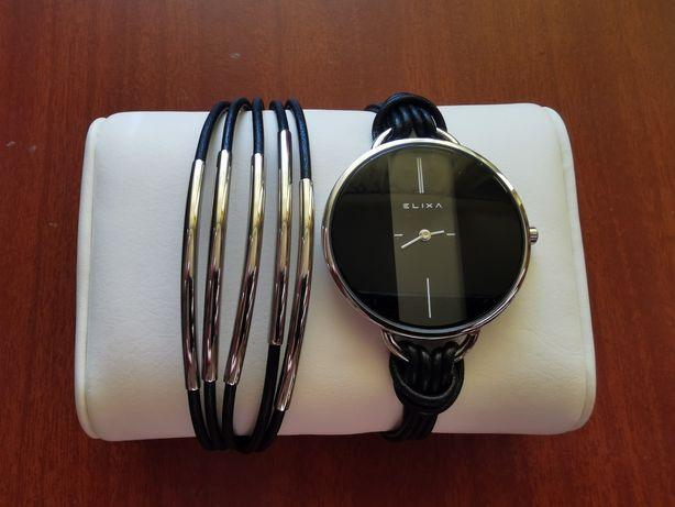Zegarek damski Elixa Finesse + bransoleta STAN IDEALNY