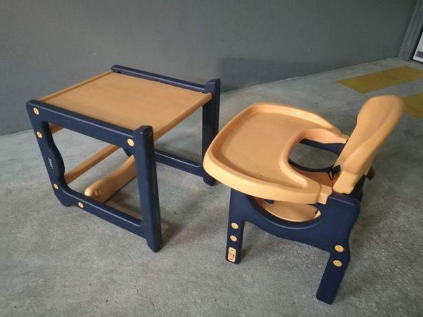 Cadeira e Mesa de Bebe