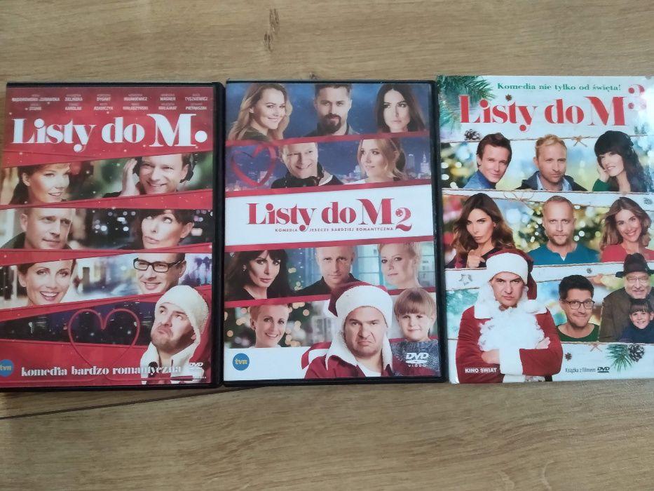 """Trylogia filmów """"Listy do M."""" DVD Poznań - image 1"""