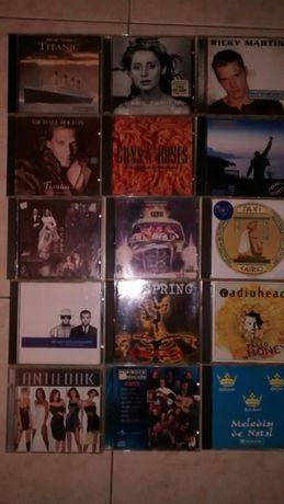 CDs para colecionador. Vários artistas