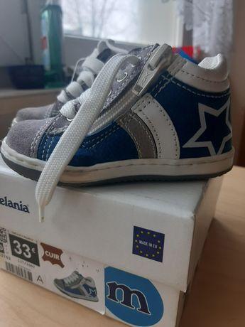 Nowe skórzane buty Melania rozmiar 20