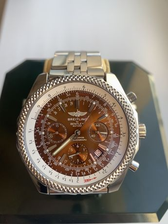 Срочно Наручные Часы Breitling For Bentley A25362 49mm Сталь 2 ремешка