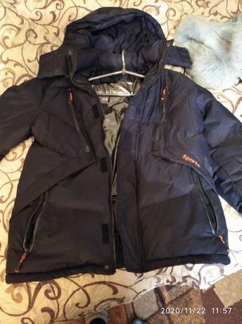 Курточка на мальчика подростка