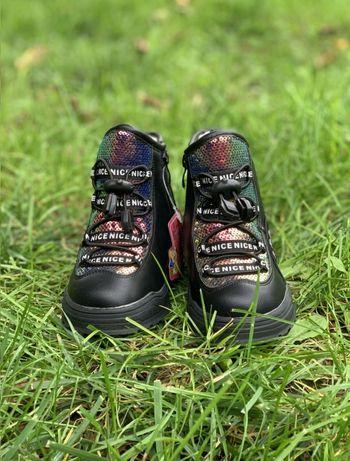 Зимние ботинки для девочки. Бесплатная доставка!