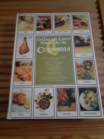 O grande livro da culinária  Círculo de leitores