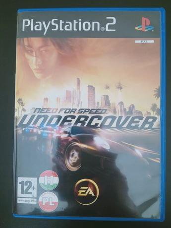 NEED FOR SPEED Undercover gra PS2 PL