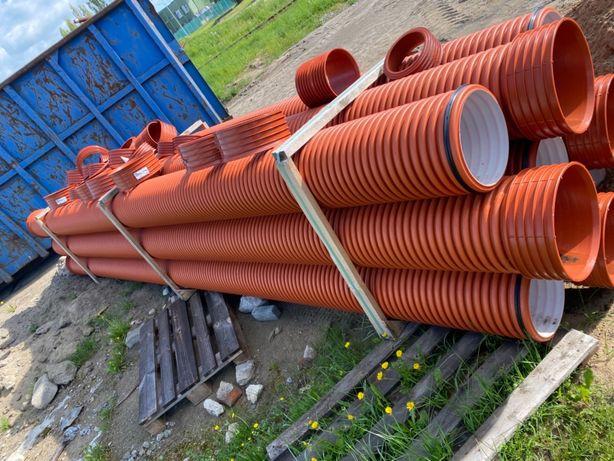 Rury kanalizacyjne  przepustowej k2 sn8 pp 300 200