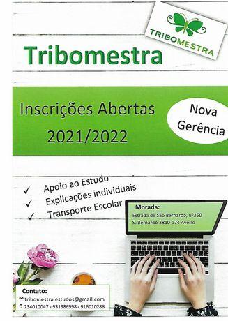 Tribomestra centro de explicações e apoio ao estudo