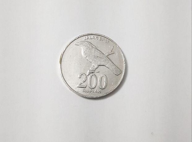 Moeda 200 rupias Indonésia