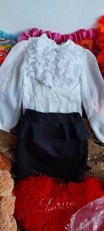 Спідниця,  блуза