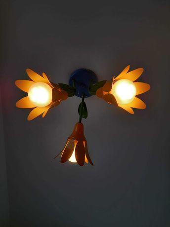 Lampa kwiatek pokoj dziecięcy