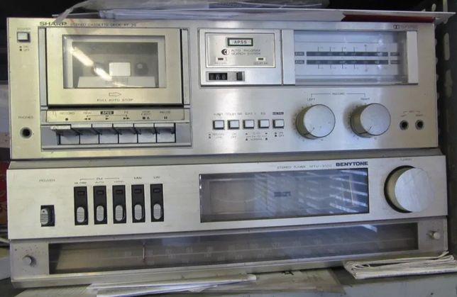 BENYTONE tuner MTU-3100 + Deck SHARP RT-30
